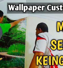 wallpaper pemandangan alam gudang gorden